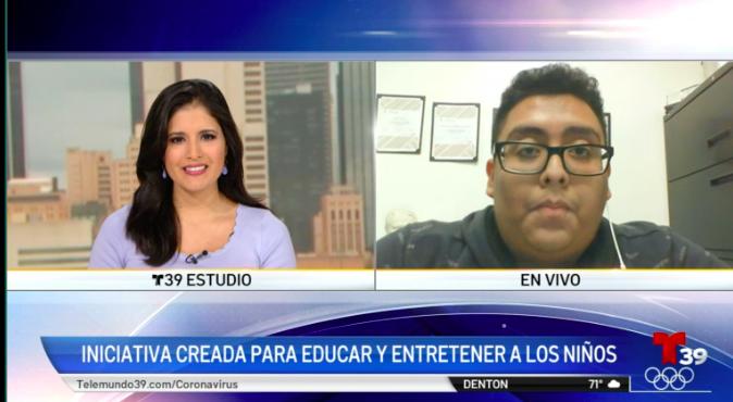 Telemundo Features SVdP's First College Scholarship Recipient